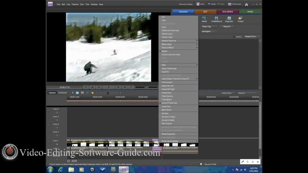 adobe premiere elements 12 tutorial youtube