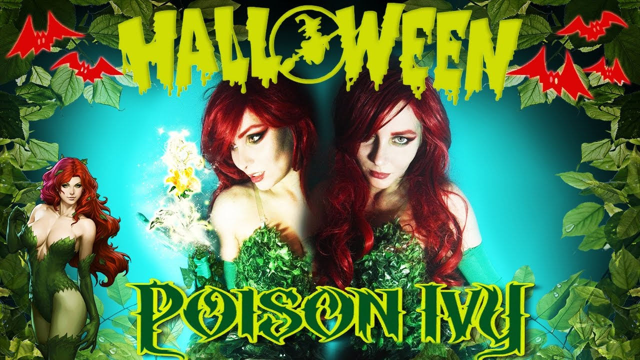 poison ivy makeup tutorial youtube