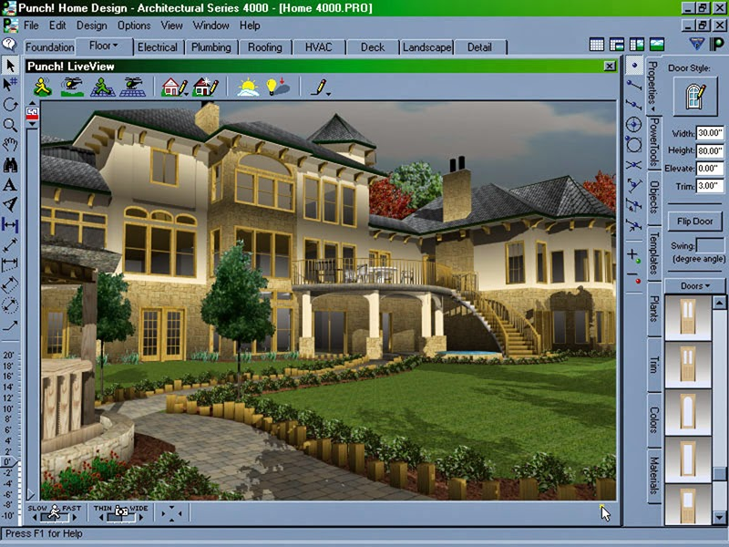 punch home design architectural series 4000 tutorial