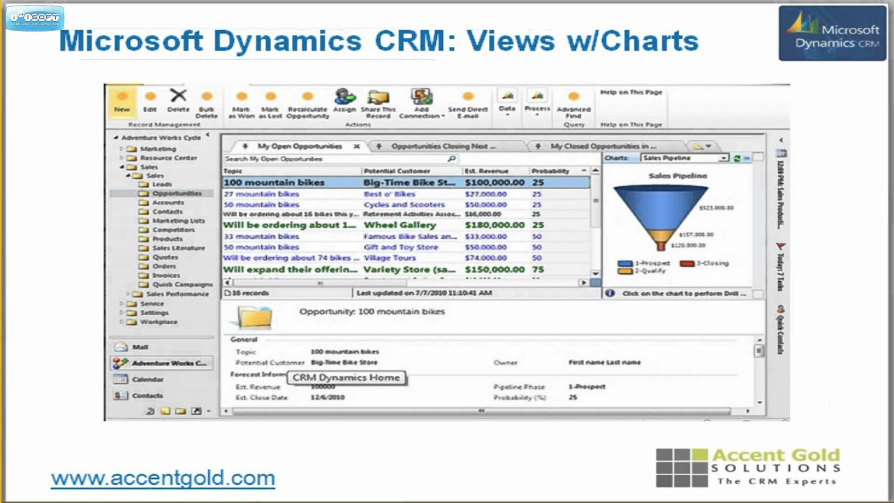 microsoft crm tutorial video