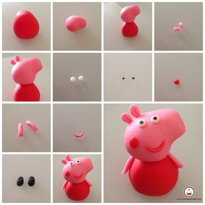 3d peppa pig cake tutorial