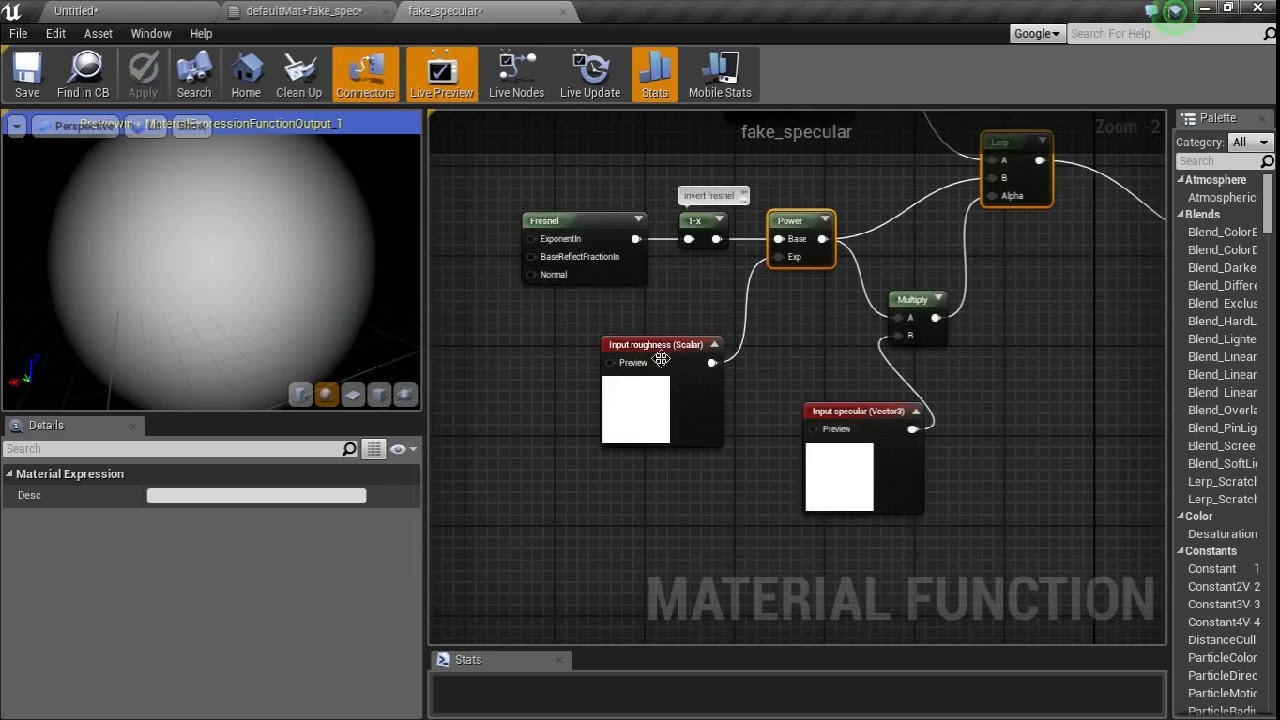 unreal engine 4 lighting tutorial