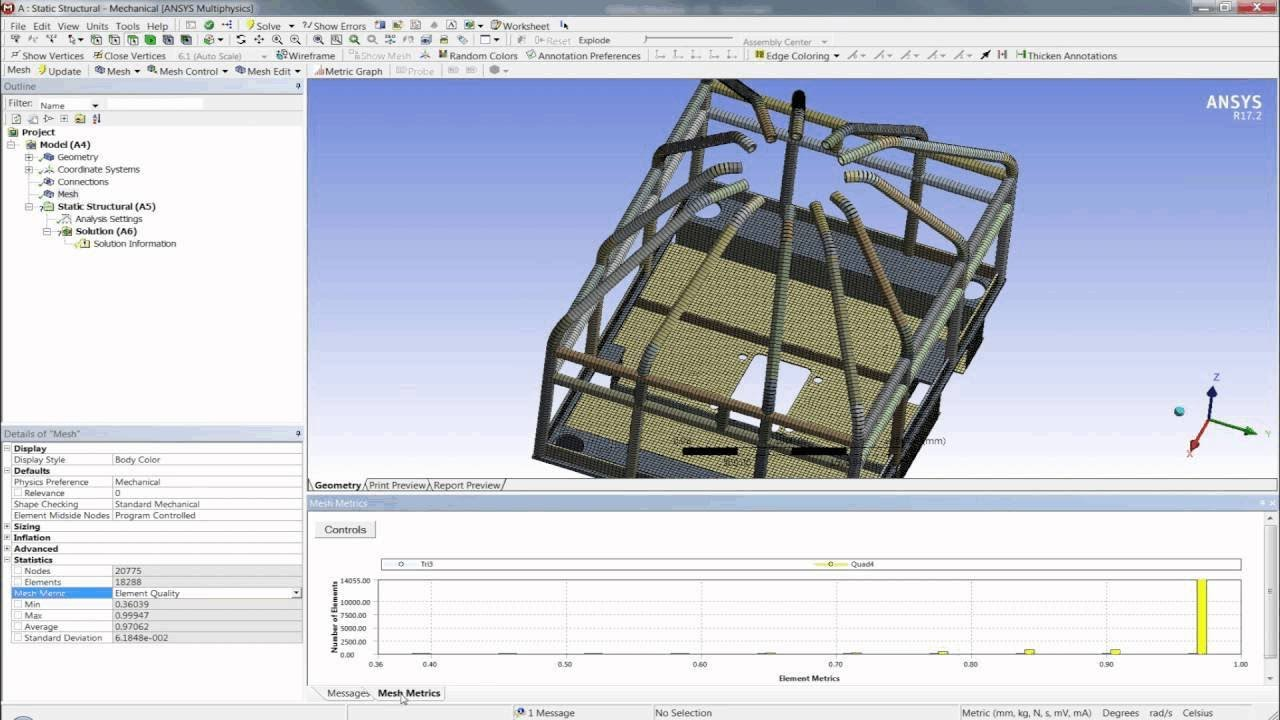 ansys shell element tutorial
