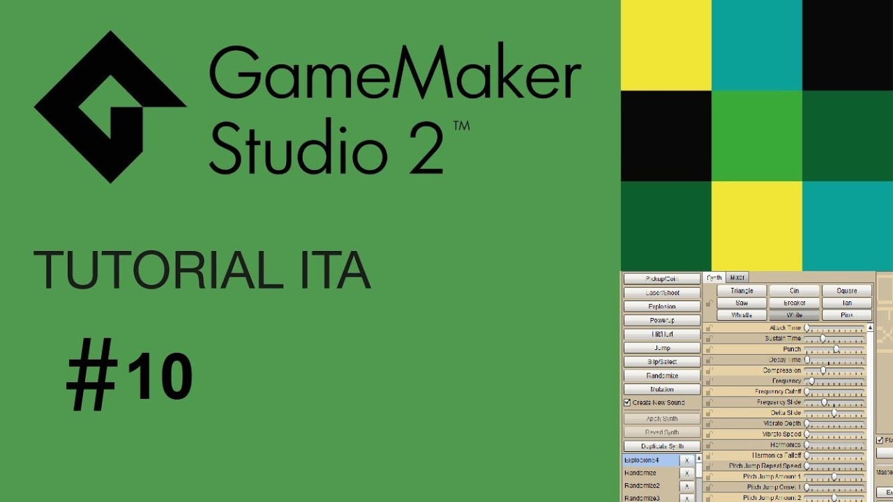 tutorial game maker studio