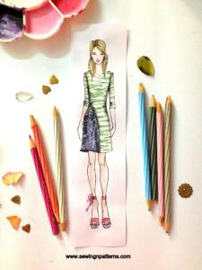 fashion sketching tutorial for beginners