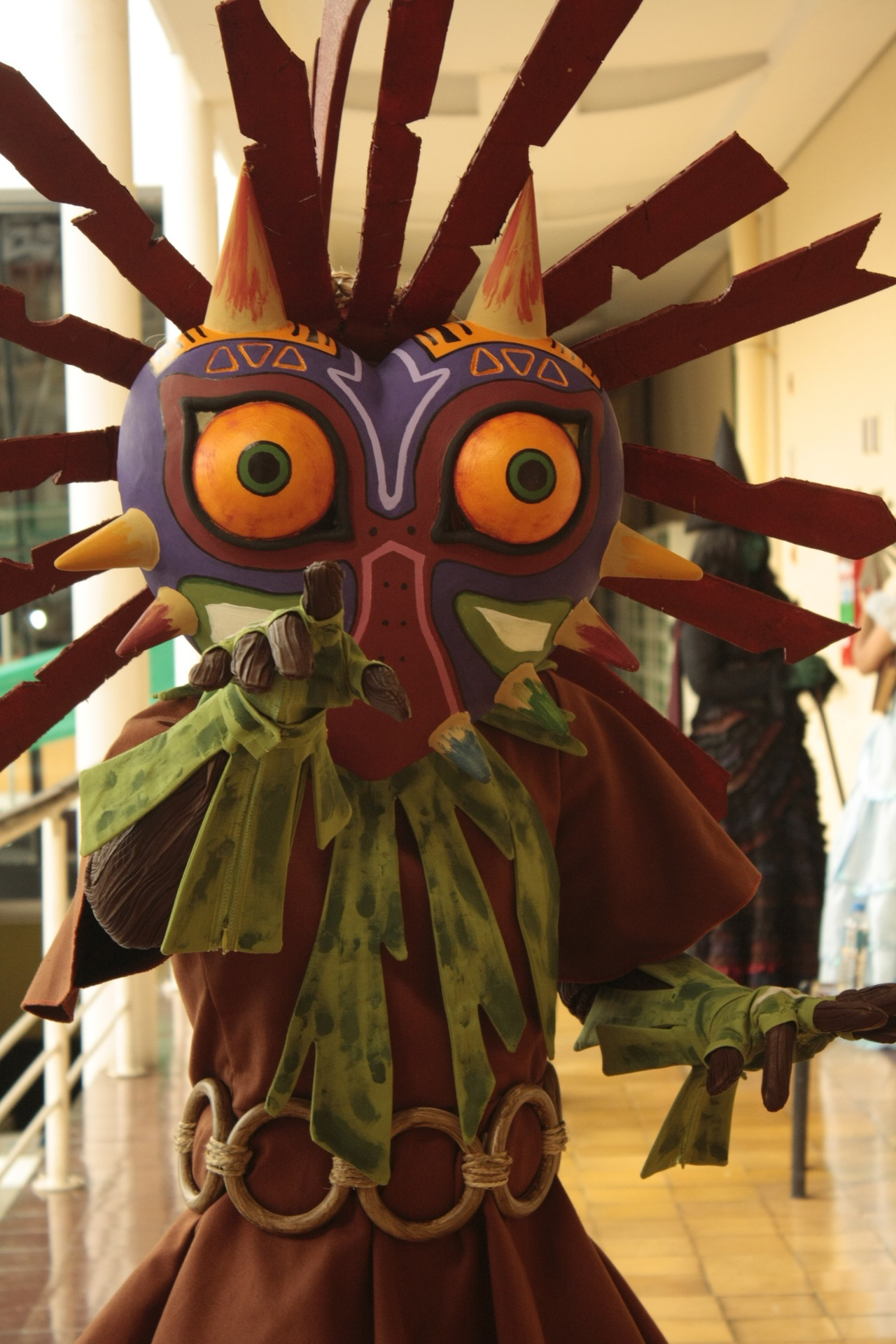 skull kid cosplay tutorial