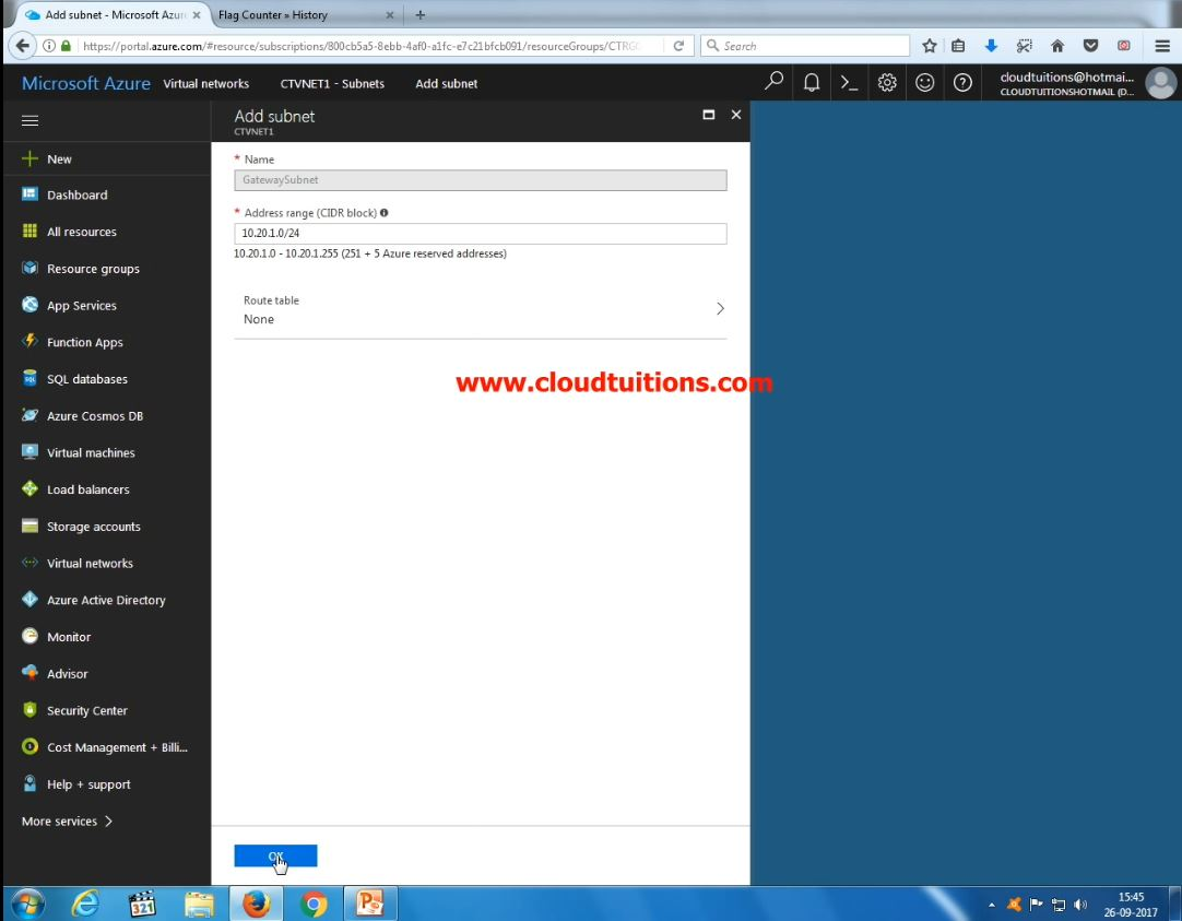 windows azure tutorial step by step pdf