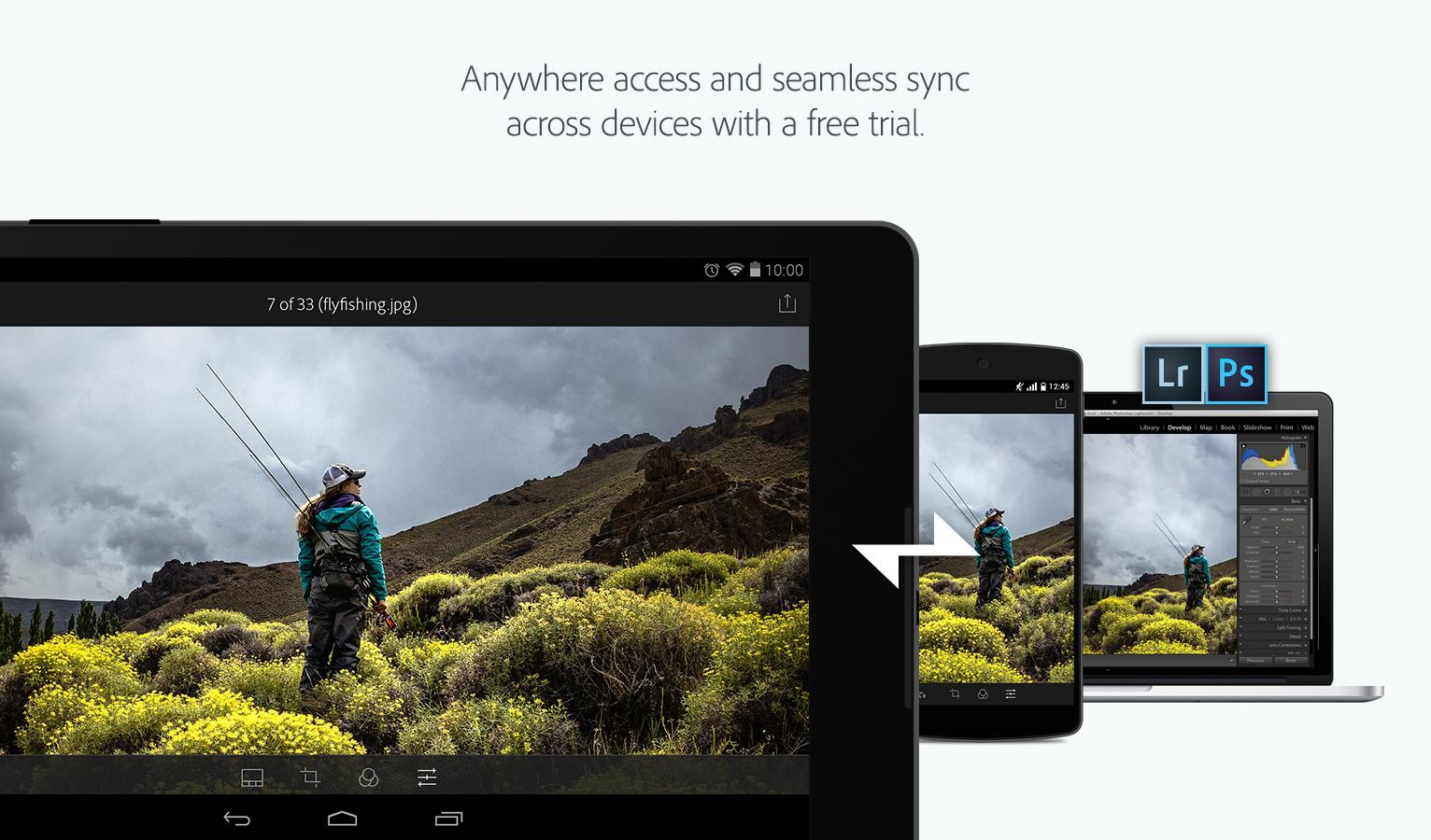 lightroom mobile android tutorial