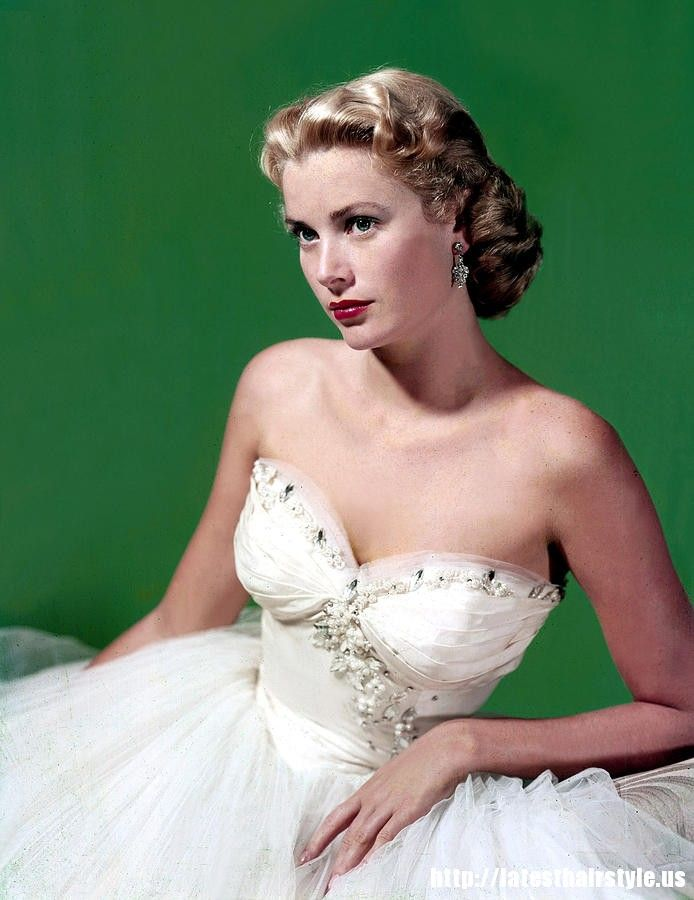 grace kelly hairstyle tutorial