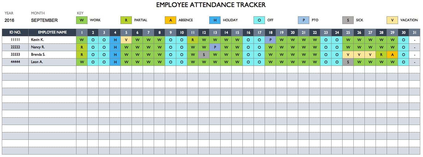 attendance management program tutorial