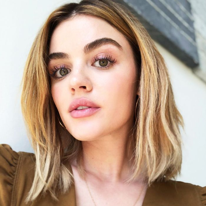 lucy hale eyebrows tutorial