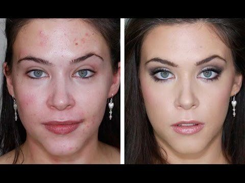 makeup tutorial for acne prone skin
