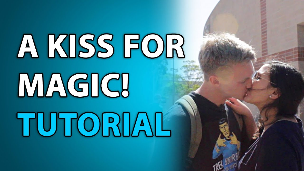 how to kiss video tutorial