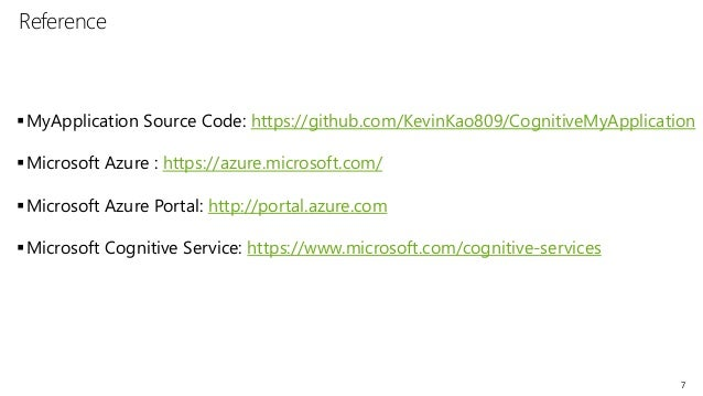 microsoft cognitive services tutorial