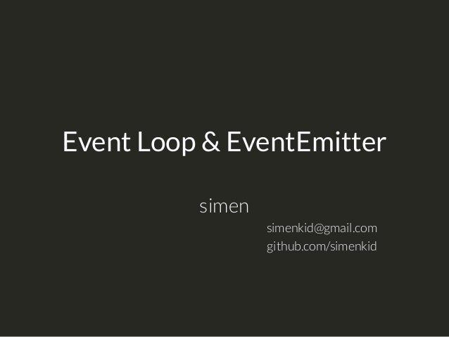 node js eventemitter tutorial