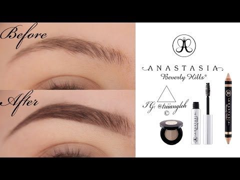 nyx eyebrow pencil tutorial