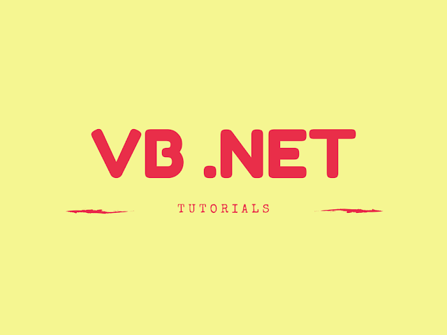 vb net tutorial pdf